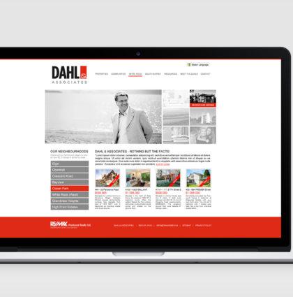 Dahl & Associates Real Estate Team Branding