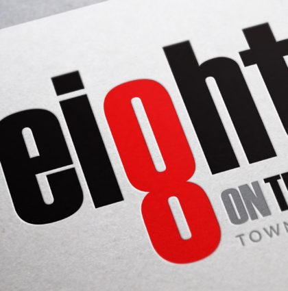 EightOnThird Townhomes Branding