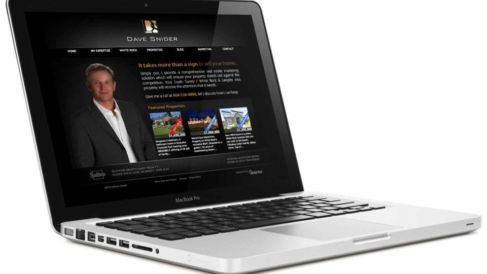 Dave Snider Realtor Branding and Web Design