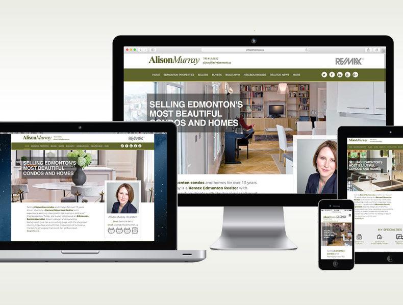 ... Marketing; Video; Web Design. Alison Murray U2013 Edmonton Realtor