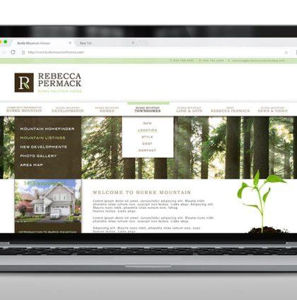 Burke Mountain Homes Branding / Website