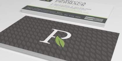 Rebecca Permack Branding / Business Cards