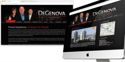 Degenova Real Estate Website / Realtor Branding