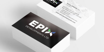Business Card Design – EPIX Developments