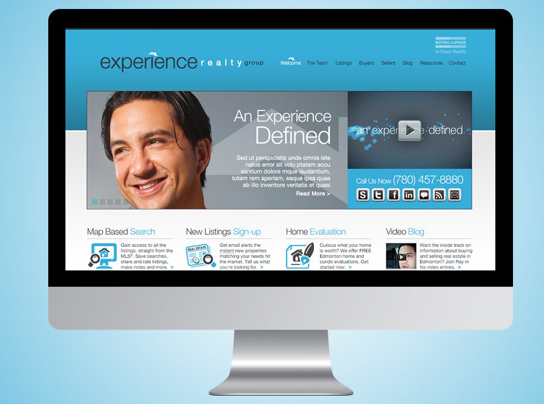 Experience Realty Web Design & Marketing
